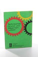 Livre Technique Connaissances Générales De Base DDR école Matériel pédagogique