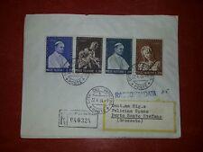 @ VATICANO BELLA BUSTA FDC  1964