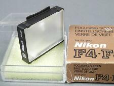 Nikon Einstellscheibe Typ B, f. F4/F4s, Top mit Dose und Karton