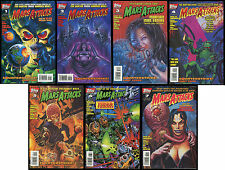 Mars Attacks 1995 Topps 2nd Series Comic Set 1-2-3-4-5-6-7 Lot from Trading Card