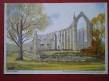 POSTCARD YORKSHIRE BOLTON ABBEY  WATER COLOUR