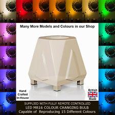 DECO MOOD LAMP UPLIGHTER PEARL WHITE - TABLE & FLOOR LIGHT - DESIGNER LIGHTING