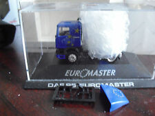Herpa HO 1/87 DAF 95 Euromaster Track Tractor Trailer Truck Cab NIP