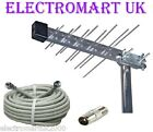 CARAVAN CAMPING TV DIGITAL FREEVIEW AERIAL WITH 10M CABLE NEW MODEL 4G FILTERED
