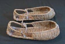 Korean Folk Art Vintage Straw Shoes JipShin for Ordinary People