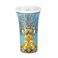 VERSACE LA MER VASE FLOWER POT ROSENTHAL NEW BOX RETAIL $500  SALE