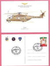 Annullo Cerimonia introduzione in linea di volo elicottero NH-90 Viterbo 2008
