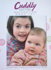 Euro Baby Cuddly Cotton Collection Book 101 Children Baby Knitting Patterns