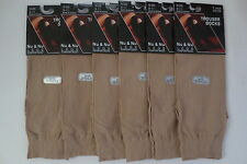 WOMEN'S BEIGE KNEE HIGH TROUSER NYLON SOCKS 360 PAIR FOR $338.40 SOCKS SIZE 9-11