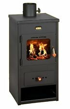 Wood Burning Stove Fireplace Log Burner Multi Fuel 8 kw Prity K1 Optima