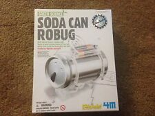 Green Science Soda Can Robug Kids Labs Science Kit No. 3646