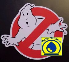 Ghost busters water resistant Sticker tablet laptop guitar haloween suitcase 130