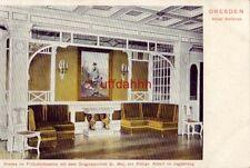 GERMANY DRESDEN HOTEL BELLEVUE originalportat Sr. Maj. des Konigs Albert