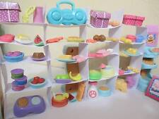 Littlest Pet Shop Lot Grocery Store Food Accessories 20 RANDOM 100% Authentic