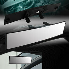 300MM Wide Convex Curve Interior Clip On Panoramic Rear View Mirror Universal 3