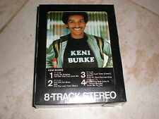 Keni Burke 8 TRACK self titled SEALED