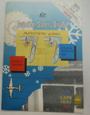 Aviation Safety Digest Magazine Induction Icing 1988 061115R