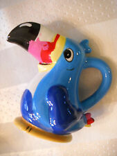 Kelloggs Fruit Loops Cereal Parrot Toucan Sam 2002 Ceramic Creamer Small Pitcher