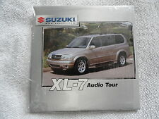 2002 Suzuki XL-7 XL7 Audio Tour CD