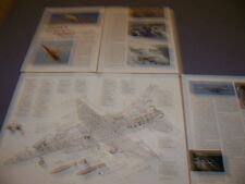 VINTAGE..IDF CHING KUO AIRCRAFT ...CUTAWAY/LEGEND/5-VIEWS/SPECS..RARE! (594J)