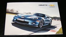 Chevrolet Corvette UK Brochure 2011 - ZR1 Coupé   Z06 Coupé   Grand Sport