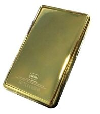 Gold Metal Back Rear housing Case cover  for ipod 7th classic 160gb