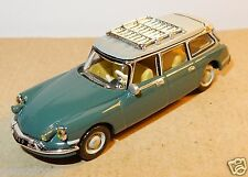 UNIVERSAL HOBBIES UH idem NOREV METAL HO 1/87 CITROEN DS ID BREAK 1960 VERTE