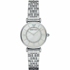 ** NEW ** Emporio Armani® watch AR1908 Ladie`s Gianni T-Bar Stainless Steel