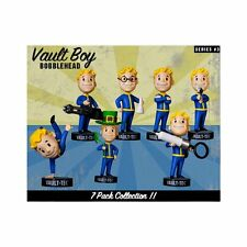 "Fallout 5"" Vault Boy Bobblehead Complete Series 3 7-Pack Set US Seller USA"