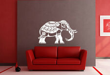 Decorative Indian Elephant Wall Art Vinyl Decal Sticker Home Removable