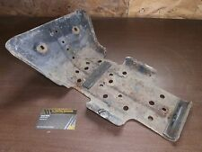 00 01 Suzuki King Quad 300 4x4 LTF300 Front Differential Skid Plate Engine Guard
