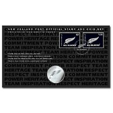 NEW ZEALAND 2011 All Blacks Numismatic Cover including the coin!!LIMITED EDITION