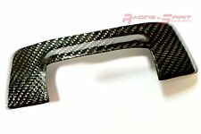 RARE REAL GLOSSY CARBON FIBER REAR GLASS HOLDER LID OVERLAY 99-05 LEXUS IS XE10