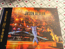 Jason Aldean Burn It Down 2015 Hardcover Photo Book & ACM Voter Request