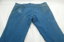 Vintage Levi Strauss Men's 40 x 29 (TAGGED 42x30) Action Jeans HOLE,STAINS #R339