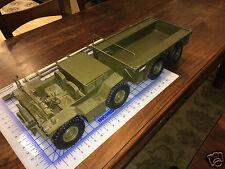 *RARE* LTV - Vought GAMA-GOAT 8x Wheeled Vehicle Prototype - FACTORY DESK MODEL