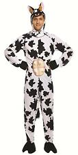 Fancy Dress Adult Cow Farm Animal Costume One Size