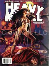 Heavy Metal Adult Illustrated Fantasy July 06 September 2006 Borgia 2 Starlight