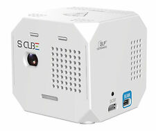 S Cube Hologram Projection Mapping & WiFi Remote HDMI Projector w Tripod Cradle