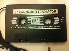 CASSETTA Converter Play CD, mp3 or MD Windows Media Player in your car's