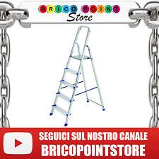 SCALA ALLUMINIO COLIBRI' MODELLO VIGOR 5 GRADINI ACAL 100 A NORME