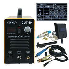 Zeny Plasma Cutter 50AMP CUT-50 Digital DC Inverter 110-220V Cutting Machin