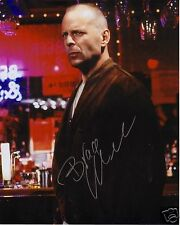 BRUCE WILLIS AUTOGRAPH SIGNED PP PHOTO POSTER