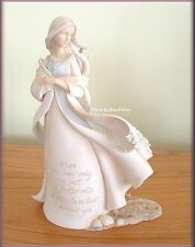 FOOTPRINTS IN THE SAND FIGURINE BY ENESCO FOUNDATIONS FREE U. S. SHIPPING