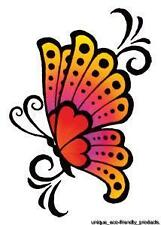 BUTTERFLY COLORFUL 9814 Temporary Tattoo