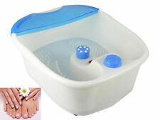 Massage Foot Bath Therapy Foot Spa Massage Wet/Dry Feet Therapy Bubble Vibration