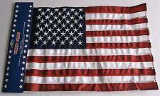 """American Flag  12"""" x 18""""  Garden Flag  100%  with Pole Sleeve   Double Sided"""