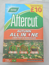 Westland All in One Autumn Lawn Care Feed & Moss Killer 150sq.m SPECIAL OFFER