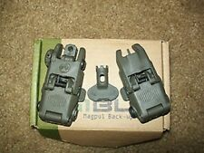 MAGPUL PTS GEN2 MBUS Polymer Front + Rear Backup Folding Sight OD Airsoft
