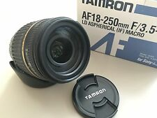 Tamron A18S 18-250mm f/3.5-6.3 Di-II LD Aspherical IF Lens For Sony